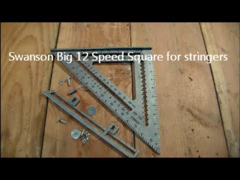 Swanson Big 12 Speed Square for Stringers