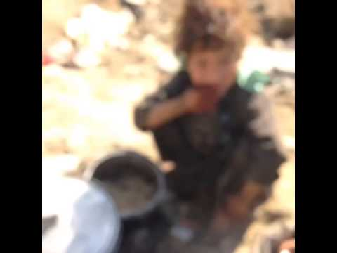 Homeless children in Afghanistan