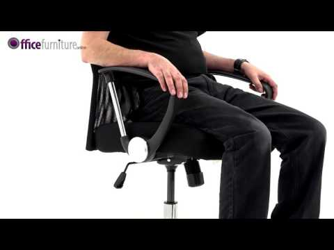 Aster High Back Mesh Office Chair features and user guide.