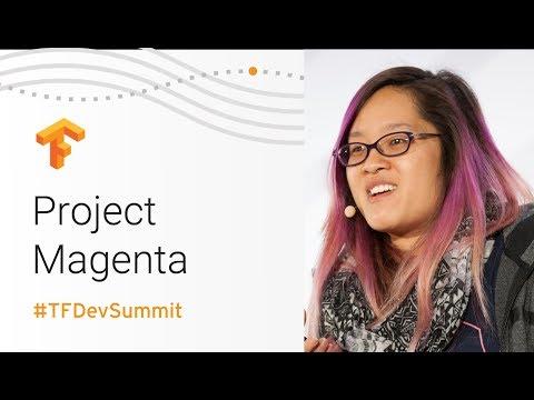 Project Magenta (TensorFlow Dev Summit 2018)