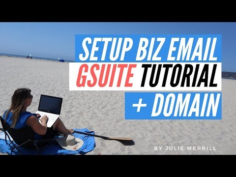 How To Set up G-Suite Email for Business and Purchase Your Own Domain