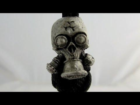 Jig Pro Shop -  Biohazard Gas Mask Bead By Rick Barrett Designs