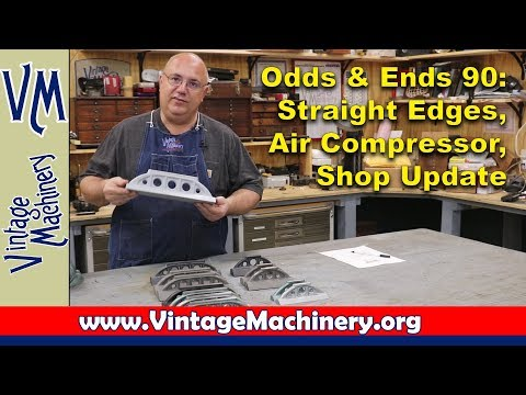 Odds & Ends 90:  Straight Edges, Air Compressor and Shop Update