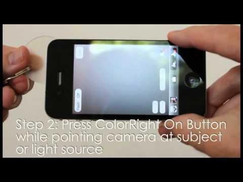 ColorRight iBal iPhone Custom White Balance