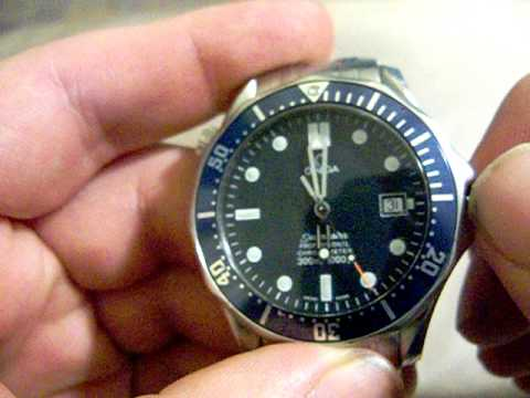Setting the Date CORRECTLY on an Omega Seamaster (Or most mechanical watches!)