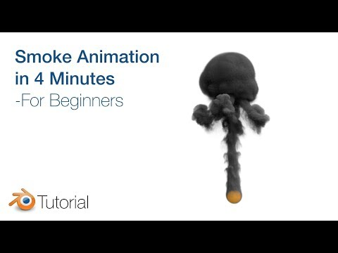 Blender Tutorial: Smoke Animation for Beginners