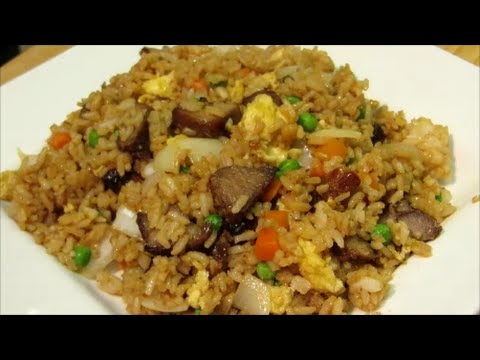 How To Make Pork Fried Rice - Chinese Fried Rice Recipe