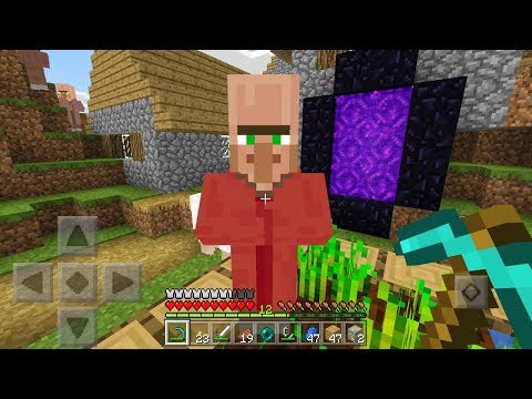 Super Rare Villager in Minecraft Pocket Edition! (EPIC TRADE)