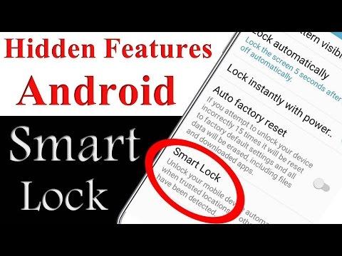 Download ANDROID SMART LOCK HIDDEN SETTINGS!