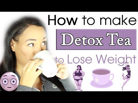 DIY Detox Tea - How to make Detox Tea for Weight Loss