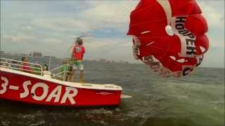 Parasailing in Ocean City, MD with Paradise Watersports