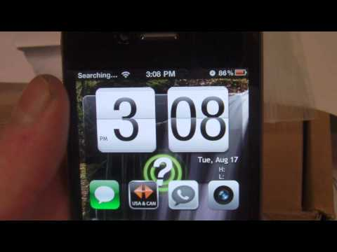 How to get Android Theme on iPhone 4 NEW!! Weather Fix Update!!