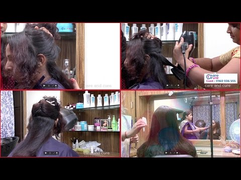 Get silky hair, shiny hair, soft smooth hair, glossy hair easily| Pooja Beauty Parlour Hyderabad