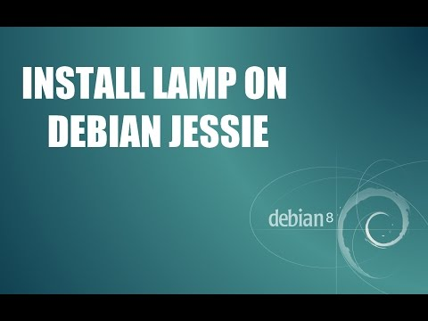 How to Install LAMP on debian 8 jessie ( linux - apache - mysql - php )