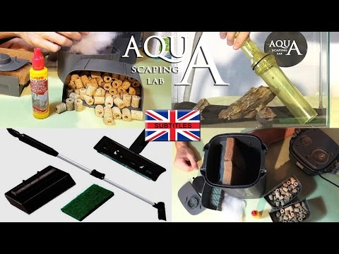 Aquascaping Lab - How to cleaning and maintenance your aquarium ,filter composition, ceramic rings
