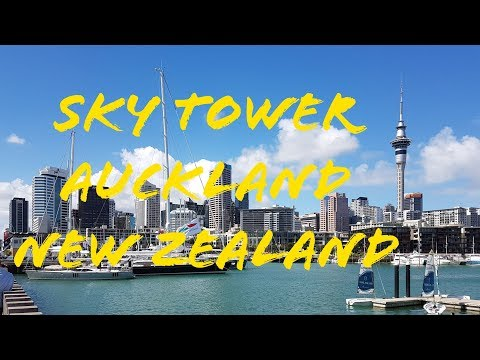Sky Tower Tour - Auckland New Zealand