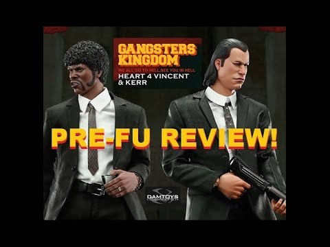 Fu-Reviews: PREVIEW DamToys Gangsters Kingdom Heart 4 (Vincent & Kerr) 1/6 Figures GK015 Dam Toys