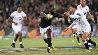 15 Great Springbok Tries Against England - 2010 to 2018