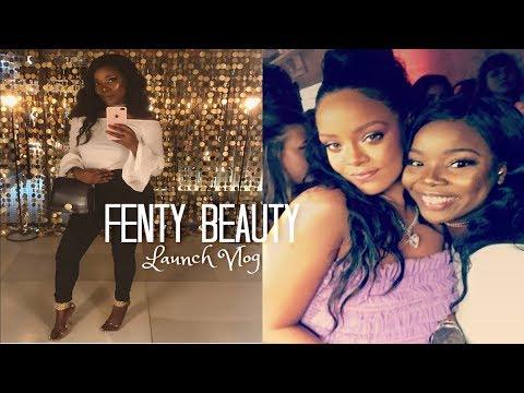 Fenty Beauty Launch London & I MET RIHANNA ✨ | MsDebDeb
