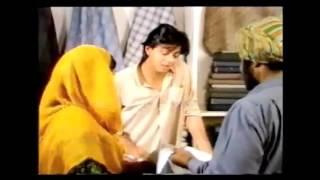 "[cut] Shah Rukh Khan in TV series ""Dil Dariya"" (1988 )"