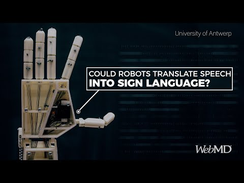 This Robot Arm Translates Sign Language | WebMD