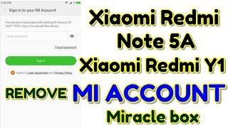 mi y1 lite mi account remove miracle box Videos - 9tube tv