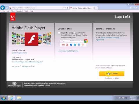 Fixing Problems in Internet Explorer - Part 4 (Flash)