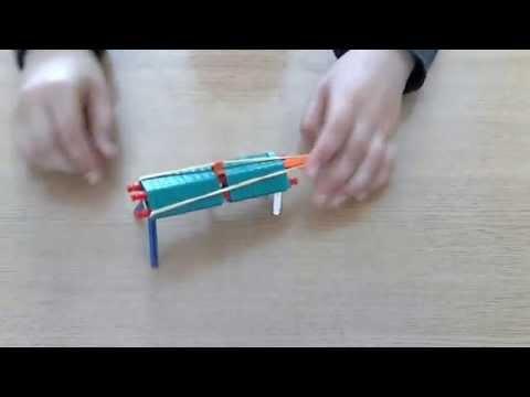 How to make a powerful knex shotgun