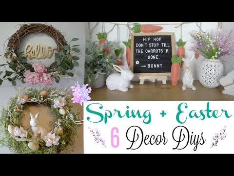 DIY SPRING DECOR IDEAS | TRANSITIONAL DECOR | Momma from scratch