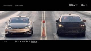 Faraday Future FF 91 vs  Ferrari 488 GTB vs Bentley Bentayga vs Tesla Model S P100D