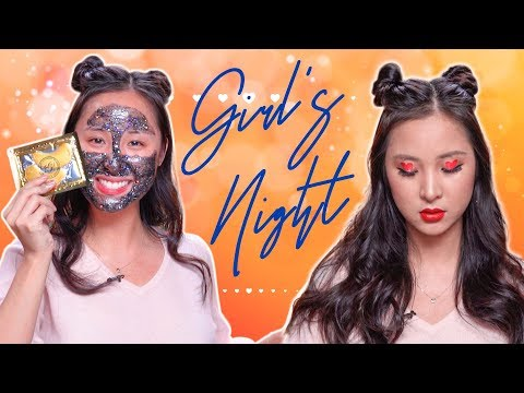 Girl's Night Out Bold Makeup Look | Tutorial for Valentine's Day