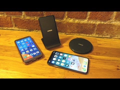 Anker Wireless Qi Charger | Upright versus Charging Pad