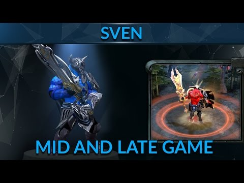 Mid and Late Game Mindset as Sven | Dota 2 Sven Guide | 7k MMR