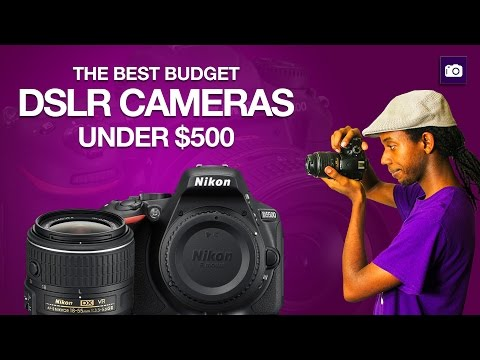 How to Buy a DSLR Camera Under $500   Buying Guide