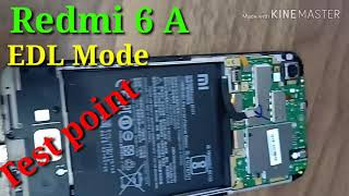 How to Enter EDL Mode Redmi 6A Without Unlock bootloader
