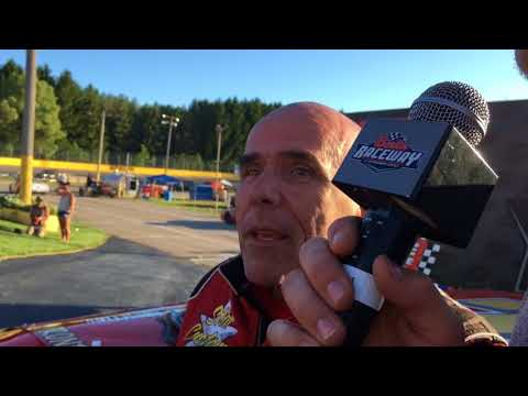 Gerry Shepard discusses Sportsman feature win at  erlin Raceway on May 26, 2018