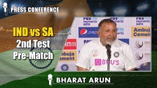 To be the No.1 Test side, conditions should not matter - Bharat Arun