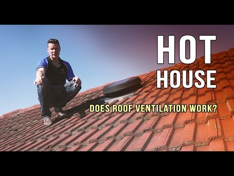 Does roof ventilation work?  Insulation consistency is what really works. (AMAZING)