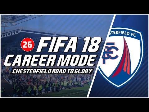 FIFA 18 Chesterfield Road To Glory: Latihan Keras Para Pemain Bertahan Dimulai Sekarang #26