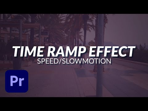 How To Time Ramp Video Footage in Adobe Premiere Pro To Make Your Video's Look Stunning (Tutorial)