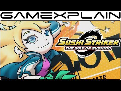 Sushi Striker: The Way of Sushido - Demo Announcement Trailer (Nintendo Switch)