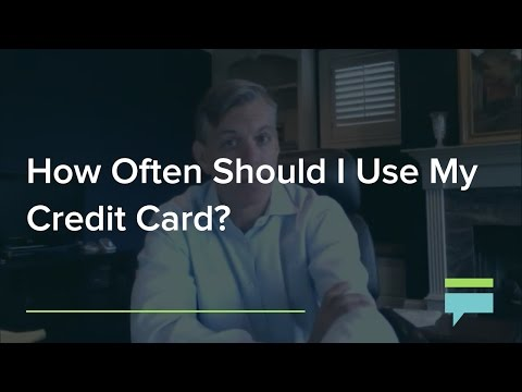 How Often Should I Use My Credit Card? – Credit Card Insider