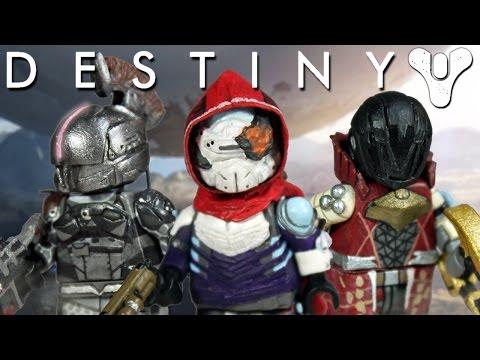 Custom LEGO Destiny Minifigures - Year 1 Guardians
