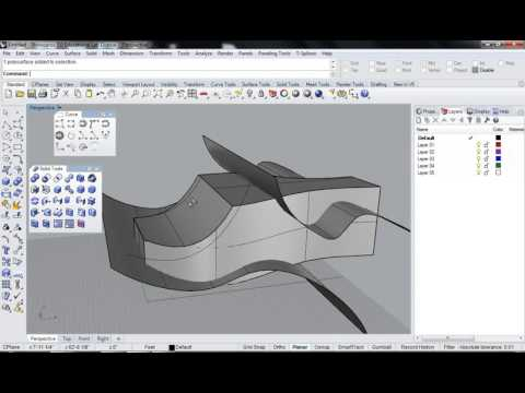 Rhino 6 Subdivision modelling - simple cup