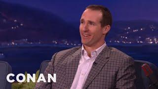 Drew Brees Super Bowl Predictions Conan On Tbs