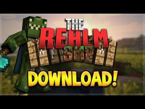 REALMS SMP WORLD DOWNLOAD! Minecraft Pocket Edition - Youtuber Realms DOWNLOAD (Pocket Edition)