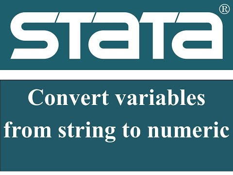 convert variables from string to numeric in STATA