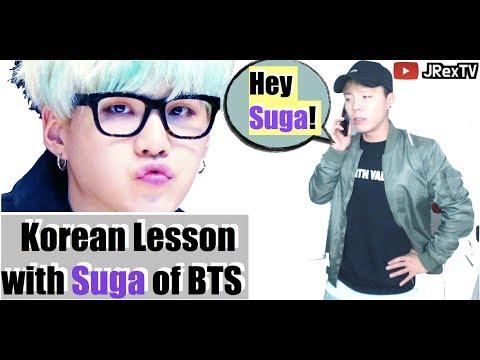 [How to speak better Korean] #1 - Kpop Idol BTS Korean Language learning Lesson