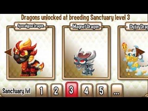 UPGRADE to Level 3 Breeding Sanctuary in Dragon City