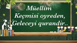 Muəllimə Aid Gozəl Sozlər Video Klip Mp4 Mp3